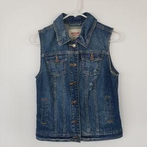 Women's Mossimo  Supply Denim Vest Size M